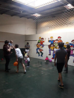 Juniors Fiestas en Caballito