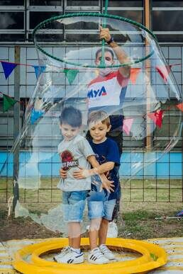 MyA Eventos recreativos, temáticos y shows al aire libre