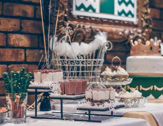 Candy Bar o Mesa Dulce para cumpleaños